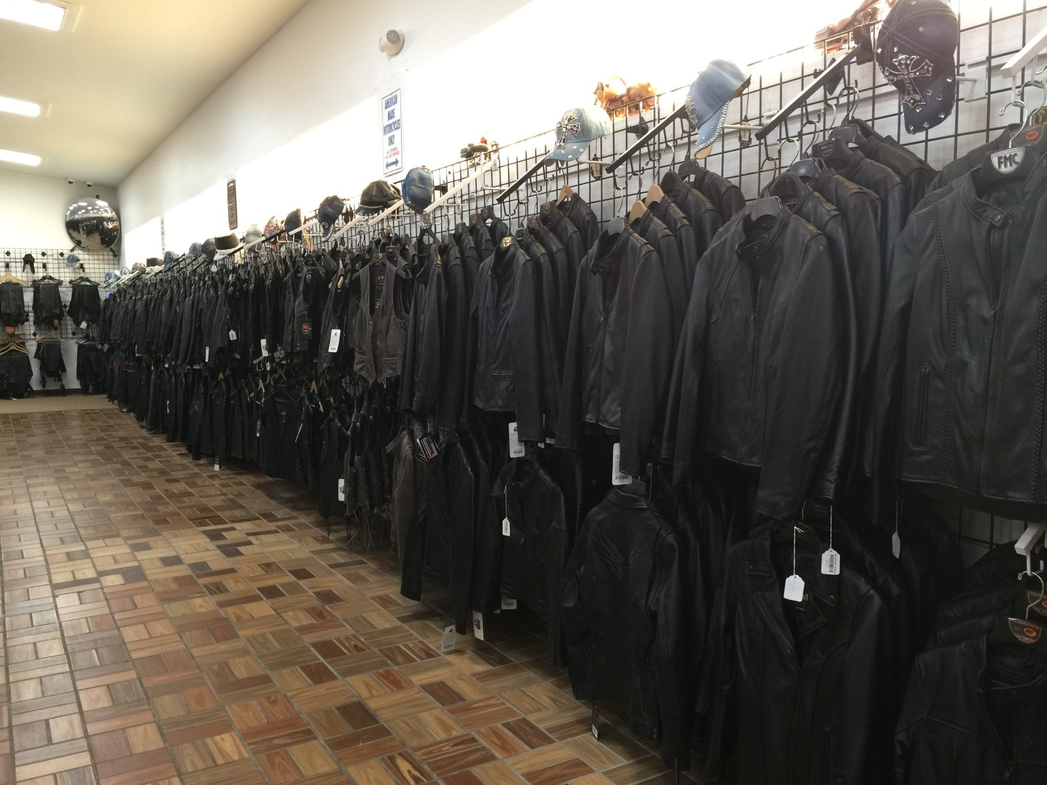 Men's Leather Jackets, Vests and Chaps by AM Leather, Romulus, MI