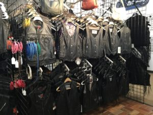 Women's Leather Vests and Biker Accessories at AM Leather, Romulus, MI