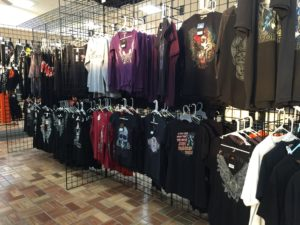 Women's Biker Themed T-Shirts, Long Sleeve Shirts, V-Necks and Tank Tops at AM Leather, Romulus, MI