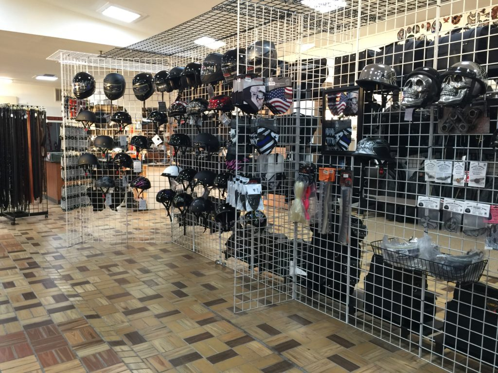 Men and Women's Biker Helmets and Accessories by AM Leather, Romulus, MI