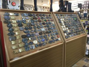 Men and Women's Belt Buckles at AM Leather, Romulus, MI